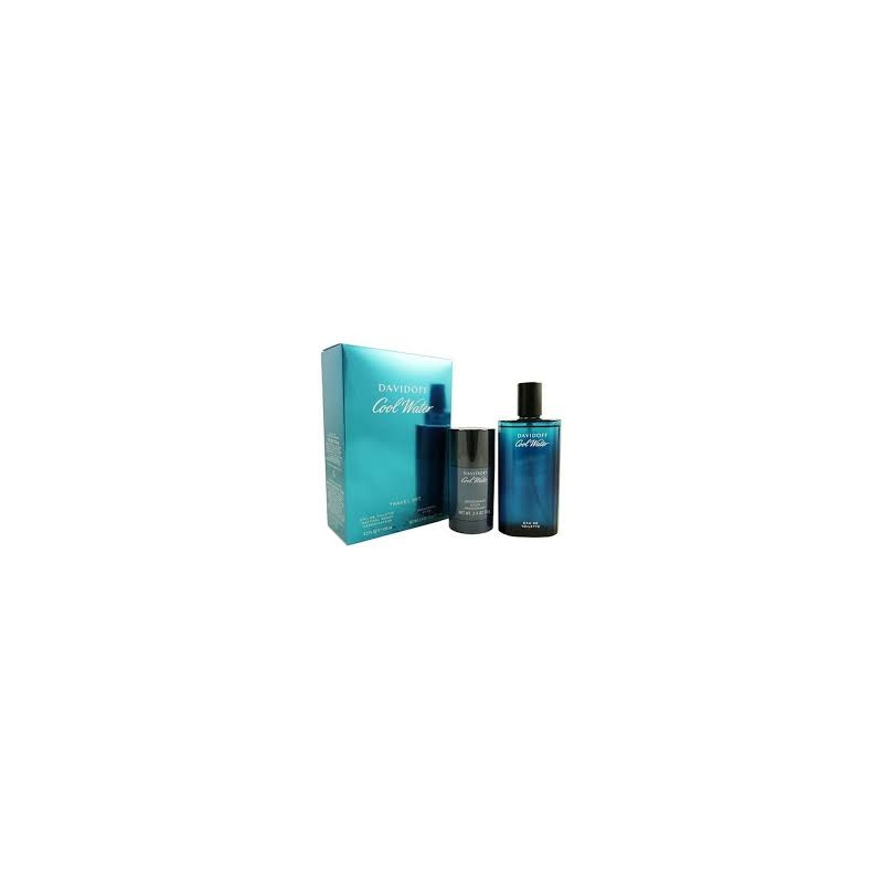 Davidoff Cool Water EDT Set 125ml EDT and 75ml deostick