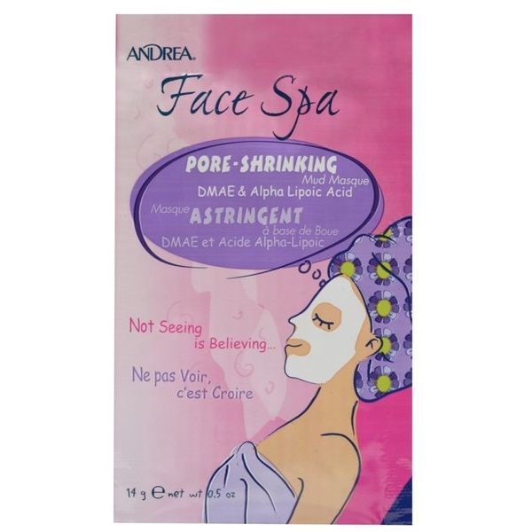 Andrea Face Spa Pore Shrinking Mud Face Masque näomask.jpg