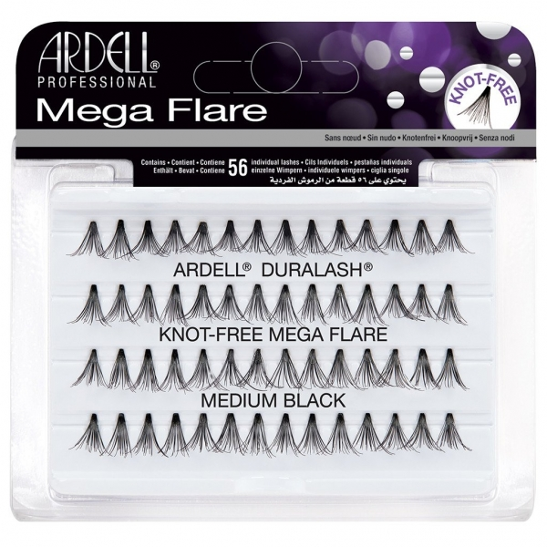 Ardell Mega Flare Individual Lashes - Medium Black .jpg