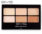 BYS Creme Contour Kit 01 Contour Is Key