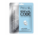 Pielor Renewal Code Facial Sheet Mask Collagen Boosting