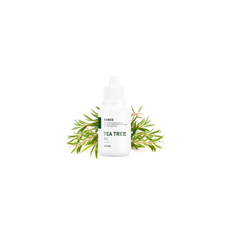 A'PIEU Nonco Tea Tree Oil, Teepuuõli probleemsele, teismelise nahale on antibakteriaalse, rahustava ja põletikuvastase toimega. On jahutava toimega.