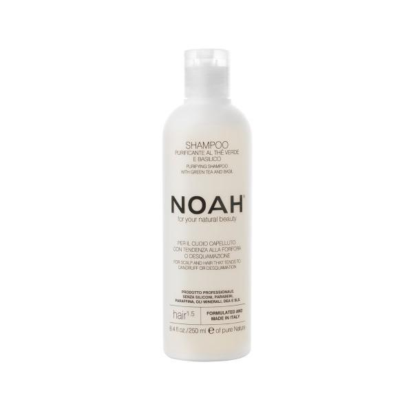 Šampoon Noah kõõmavastane rohelise tee ja basilikuga 250 ml.jpg