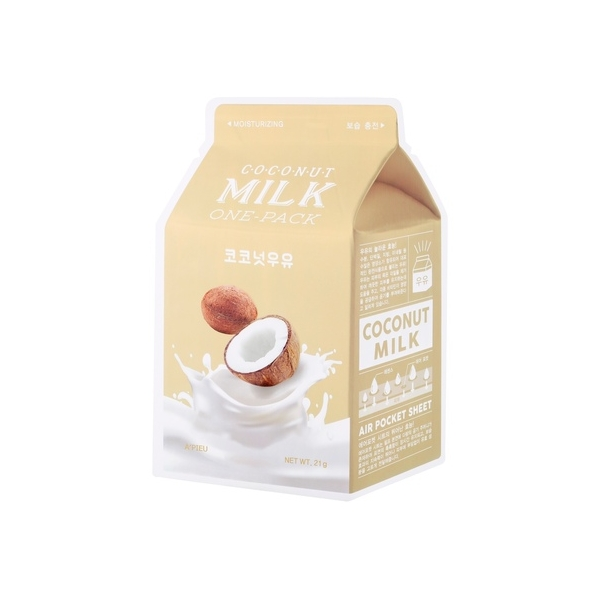 A'PIEU Milk One-Pack näomask Coconut Milk.jpg