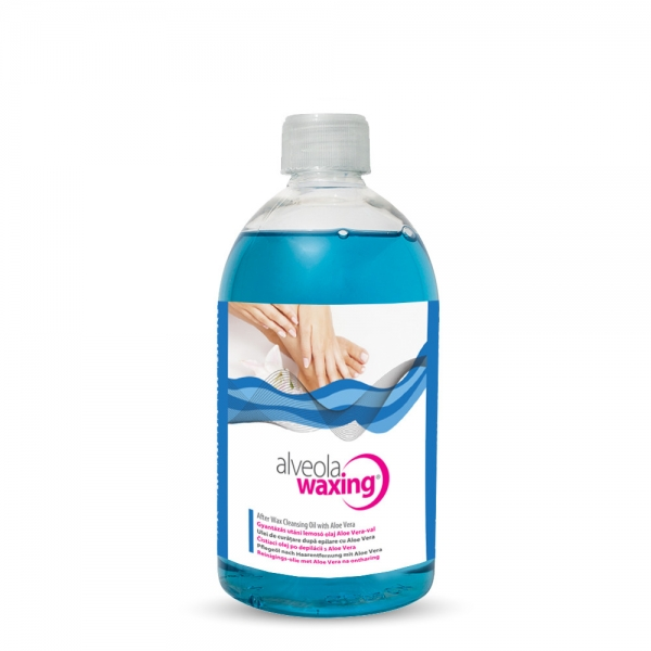 Alveola Waxing After Wax Cleansing Oil with Aloe Vera extract 500ml.jpg