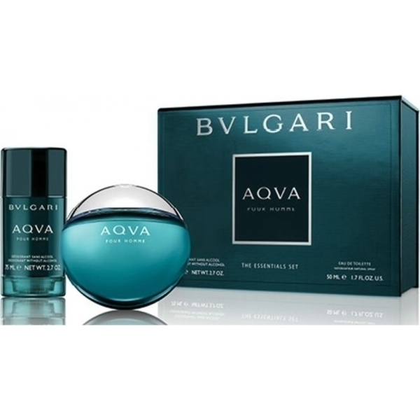 Aqua Pour Homme 50ml EDT Spray  75ml Deodorant Stick.jpg