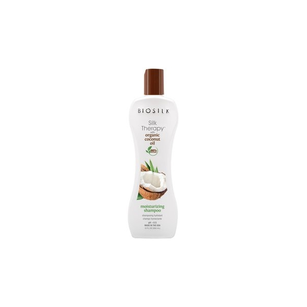 Biosilk Silk Therapy with Organic Coconut Oil Moisturizing Shampoo.jpg