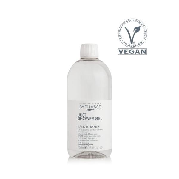 Byphasse Back to Basics shower gel all skin types 750ml.jpg