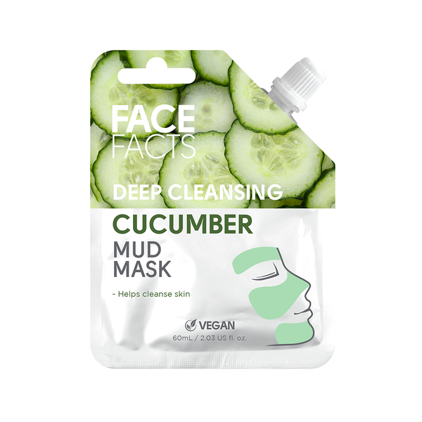 Face Facts Deep Cleansing Cucumber Mud Mask 60ml.png