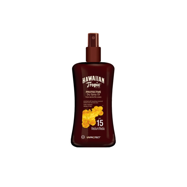 Hawaiian Tropic Protective Dry Spray Oil SPF 15.jpg
