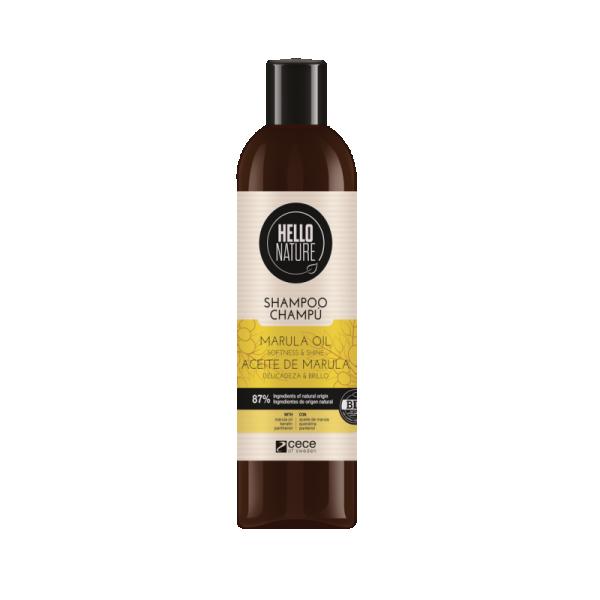Hello Nature Pehmendav ja läiget andev šampoon marulaõliga 300ml.jpg