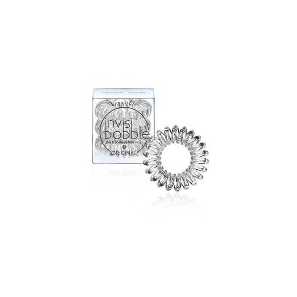 Invisibobble Traceless Hair Ring Crystal Clear 3pcs.jpg