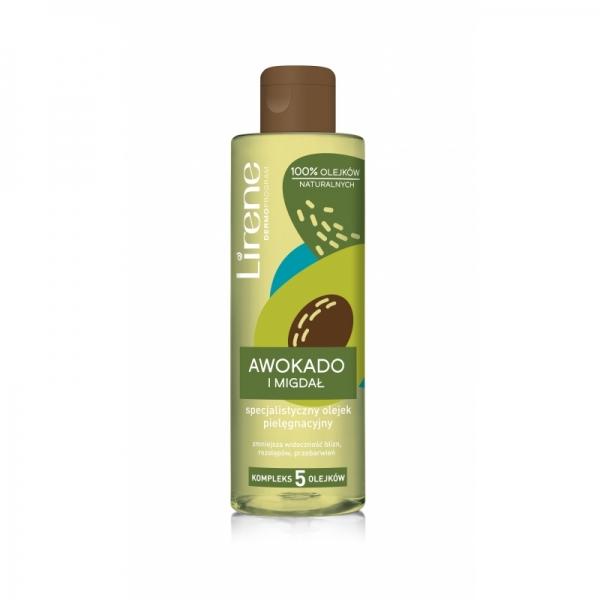 Lirene Body oil with avocado and almond 200ml.jpg