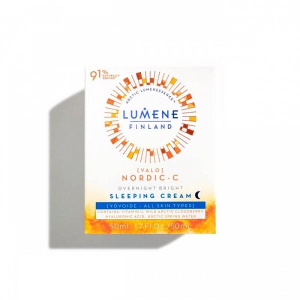 Lumene Valo Overnight Bright Vitamin C Sleeping Cream.jpg