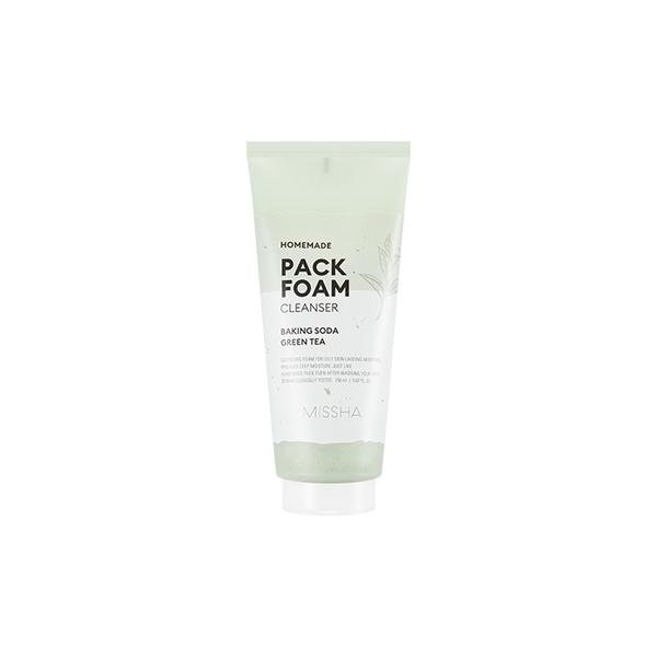 MISSHA Homemade Pack Foam Cleanser puhastav vaht sooda.jpg