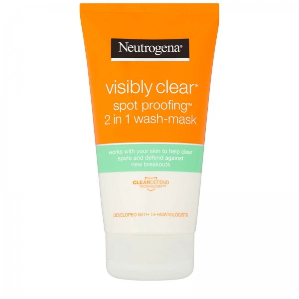Neutrogena Visibly Clear Spot Proofing 2-in-1 Wash-Mask.jpg