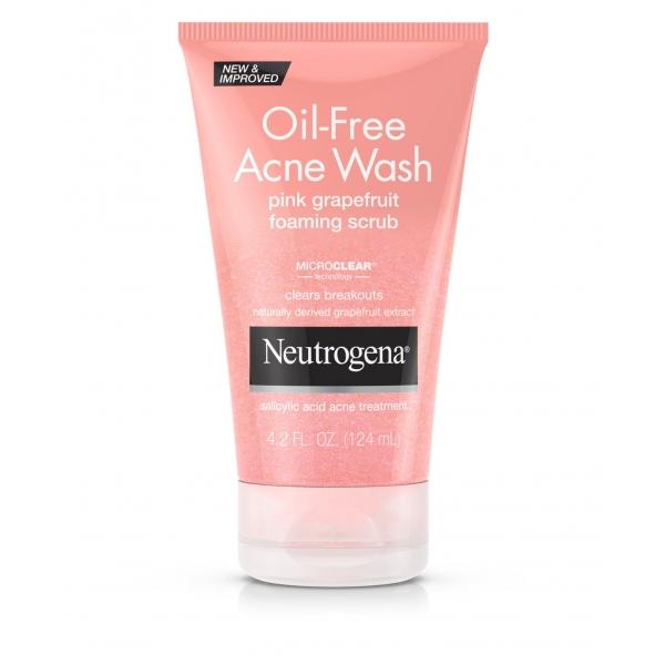 Oil-Free Acne Wash Pink Grapefruit Foaming Scrub.jpg