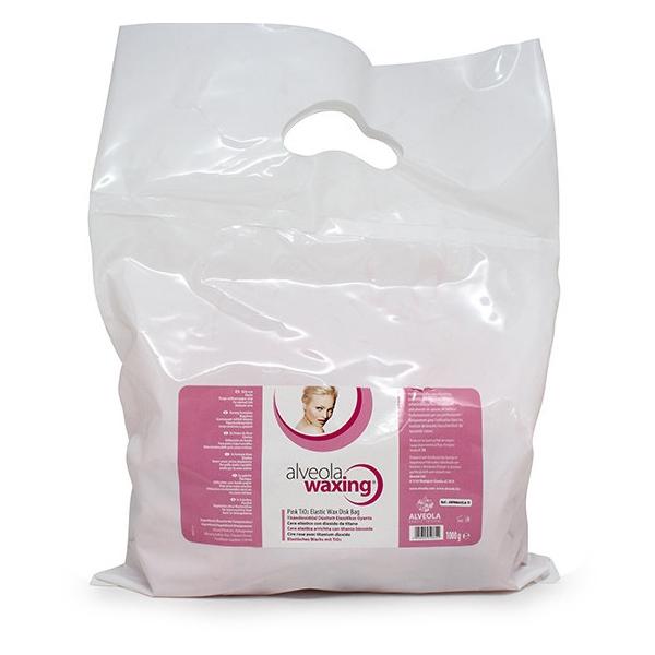 Pink TiO2 Elastic Wax Disk Bag 1000g.jpg
