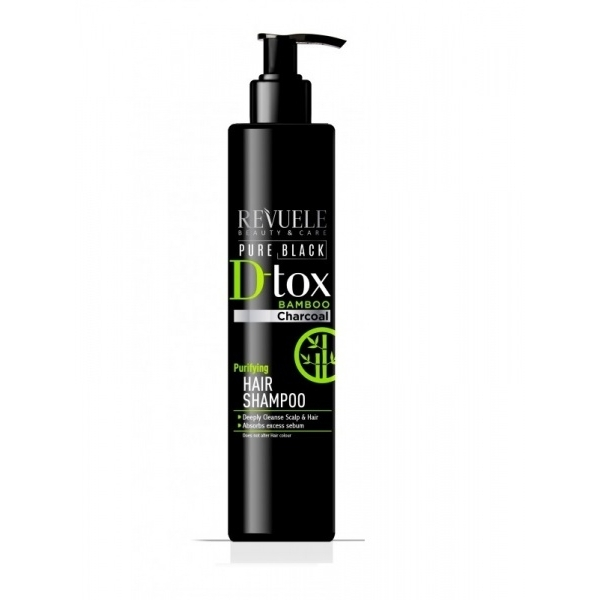 REVUELE PURE BLACK Purifying Hair Shampoo.jpg