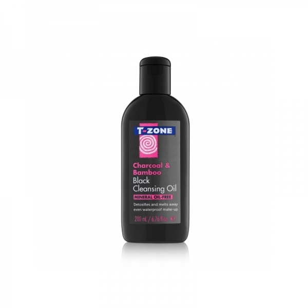 T-Zone Cleaning Oil Charcoal & Bamboo 200ml.jpg
