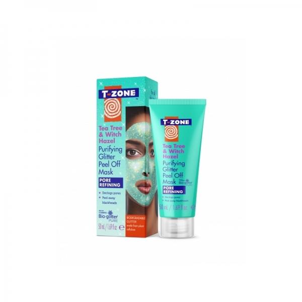 T-Zone Puhastav näomask Purifying Glitter Peel Off Mask Tea Tree&Witch Hazel 50ml.jpg