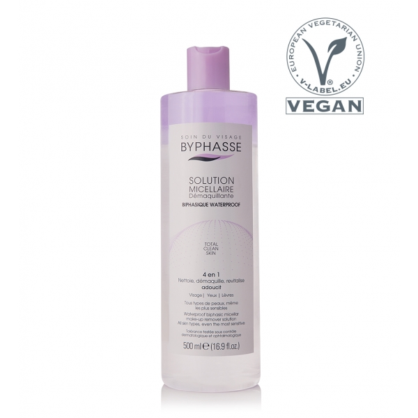 Waterproof biphasic micellar make-up remover solution 500ml TOTAL CLEAN SKIN.jpg