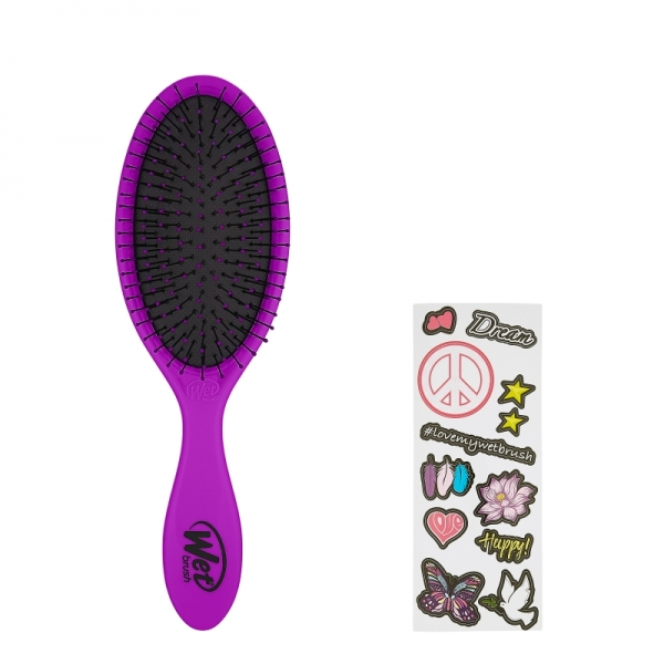 Wetbrush Detangler With Stickers Peace.jpg
