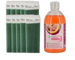 Alveola 10 tk ROLL-ON VAHAPADRUNIT ja Puhastusõli vahajääkide eemaldamiseks 500ml