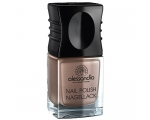 ALESSANDRO NAIL POLISH 71 BROWN METALLIC