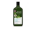 Avalon Organics Scalp Treatment Tea Tree Shampoo 325ml