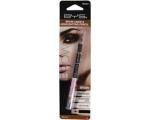 BYS Brow Liner And Highlighting Pencil Black, Kulmupliiats + särapliiats must