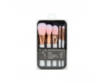 BYS Makeup Brushes in Keepsake White with Rose Gold