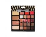 BYS Peach 23Pc Face Palette In Glitter Box