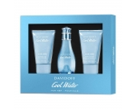 Cool Water Woman Gift Set EDT 50ml, Body Lotion 50 ml and Shower Gel 50 ml