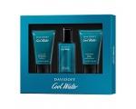 Davidoff Cool Water EDT Gift Set:  Man EDT 40ML + Shower Gel 50ML + After Shave Balm 50ML