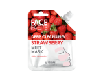 FACE FACTS DEEP CLEANSING STRAWBERRY MUD MASK, Sügavpuhastav mudamask maasikas 60ml