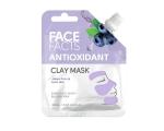 Face Facts Antioxidant Clay Mud Mask, Pinguldav ja toniseeriv savimask mustikas 60ml
