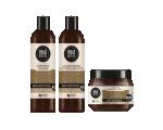 Hello Nature Hair Set WITH COCONUT OIL, Niisutav ja taastav komplekt juustele kookosõliga