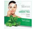 IDC Institute Facial Mask with Green Tea monodose, Ühekordne  vananemisvastane näomask