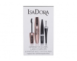 IsaDora Grand Volume Lash Curler 60 Deep Black Mascara 9 ml komplekt