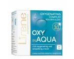 Lirene OXY in AQUA Smoothing oxygenating cream for sensitive skin SPF30