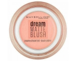 MAYBELLINE DREAM MATTE BLUSH CREAMY CHEEK TINT 30 COY CORAL