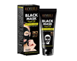 REVUELE BLACK MASK WITH PRO-COLLAGEN