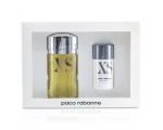 PACO RABANNE - XS Gift Set ( EDT 100 ml and 75 ml deostick XS )