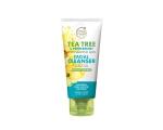 Petal Fresh Tea Tree & Peppermint Facial Cleanser 200ml, Sügavpuhastav ja nahka jahutav näopesugeel