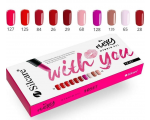 Silcare With You Flexy Hybrid Gel Set 10X 4,5g set