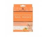 Skin Academy Brightening Nail Masks with Vitamin C & Lemon 2x5tk