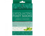 Skin Academy Exfoliating Foot Socks – Aloe Vera & Tea Tree, Пилинговые носочки для ног