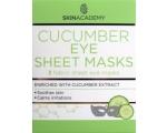 Skin Academy Kangasmask silmadele rahustav kurgiekstraktiga 3tk