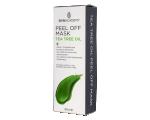 Skin Academy Peel Off Mask Tea Tree Oil 80ml, Sügavpuhastav ja rahustav peel off näomask teepuuõli